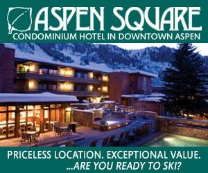 Aspen Square Hotel Condominium Hotel : Aspen Hotel.