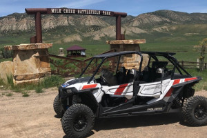 Aspen Area UTV guided tours around Meeker CO