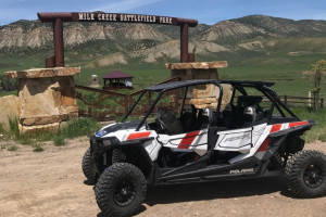 Enjoy a Heli and UTV Tour around Meeker CO