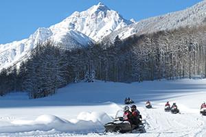 T-Lazy-7 Ranch | Premier Snowmobile Trips!