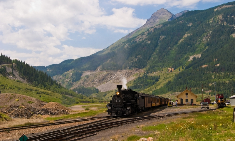 The Durango Silverton Steamtrain