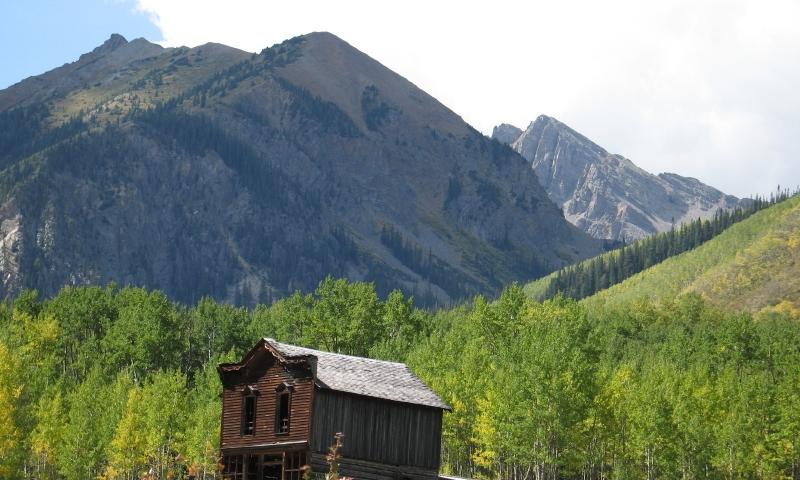 Ashcroft Ghost Town Aspen Colorado