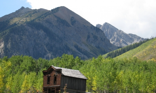 Ashcroft Ghost Town Aspen Colorado