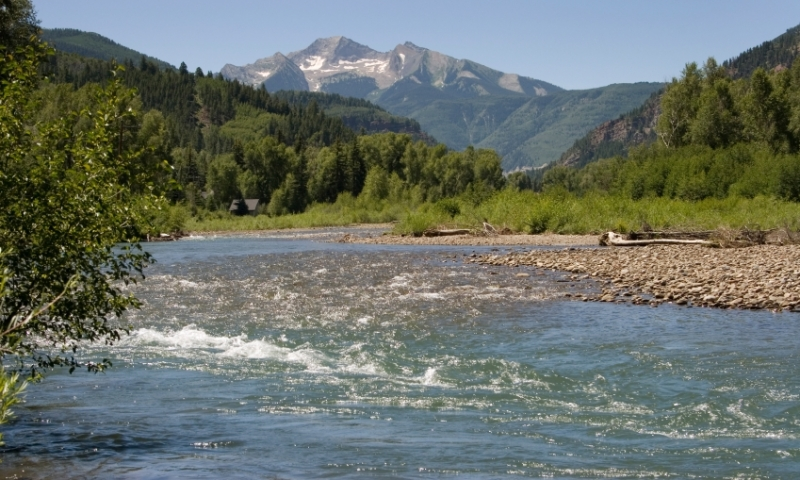 Crystal River Colorado Fly Fishing Camping Boating