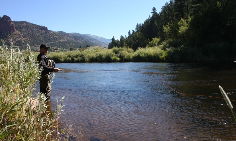 Fishing Frying Pan River Colorado