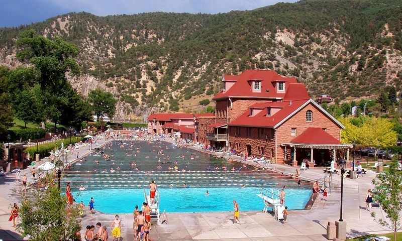 Glenwood Springs Hot Springs Pool Alltrips