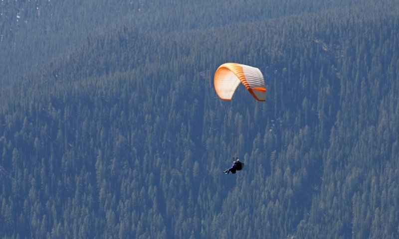 Paragliding White River National Forest Aspen Colorado