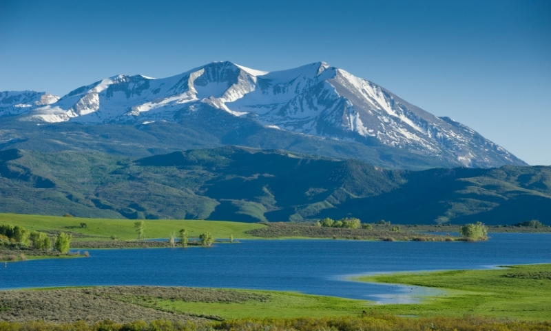 Mount Sopris White River National Forest Colorado