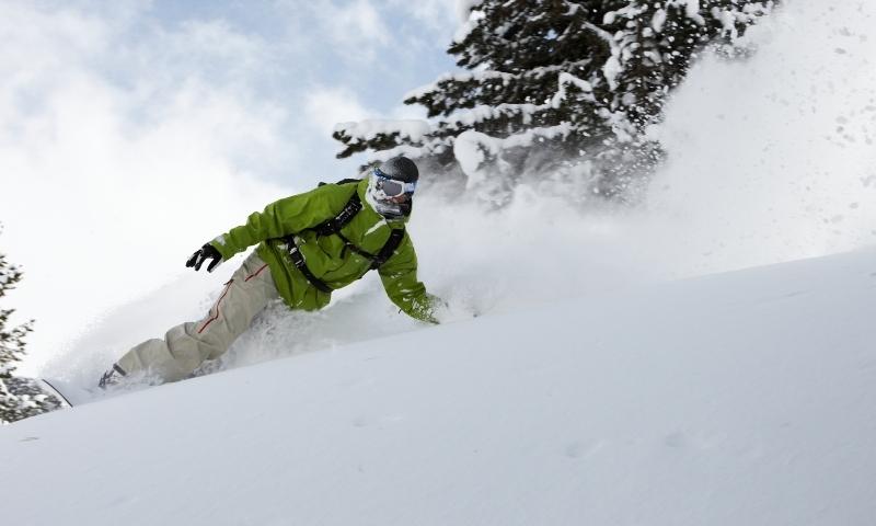 Skiing Powder Snowboarding