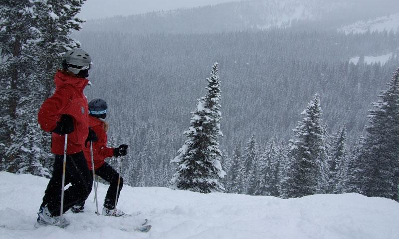 Skiing at Snowmass