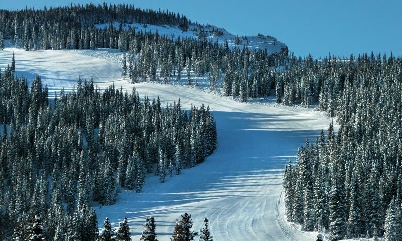 Snowmass Ski Run
