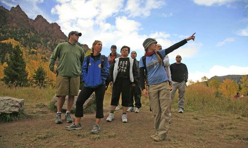 Guided Hike near Aspen Colorado