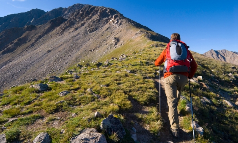 Climbing La Plata Peak in the Sawatch Range