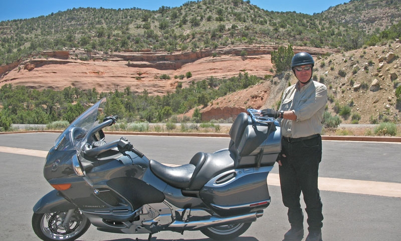 Motorcycle Tour through Colorado National Monument