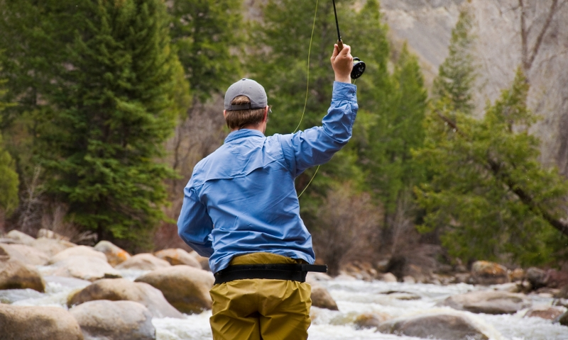 Fly Fishing Roaring Fork River Colorado Aspen