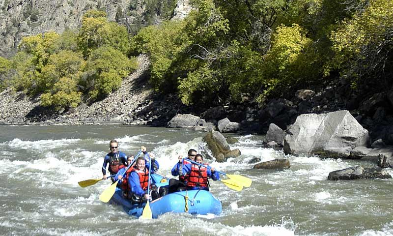 Whitewater Rafting the Roaring Fork River in Aspen Colorado