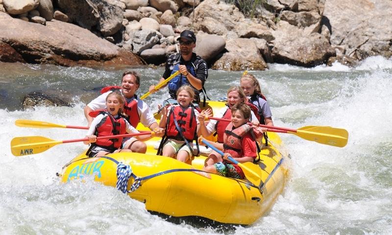 Aspen White Water Rafting