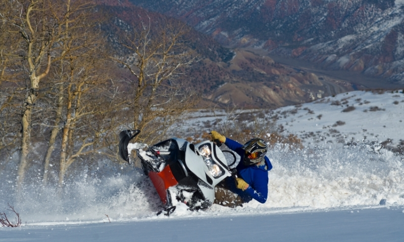 Colorado Snowmobiling Winter
