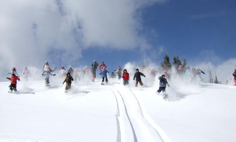Snowshoeing Tour in Aspen Colorado